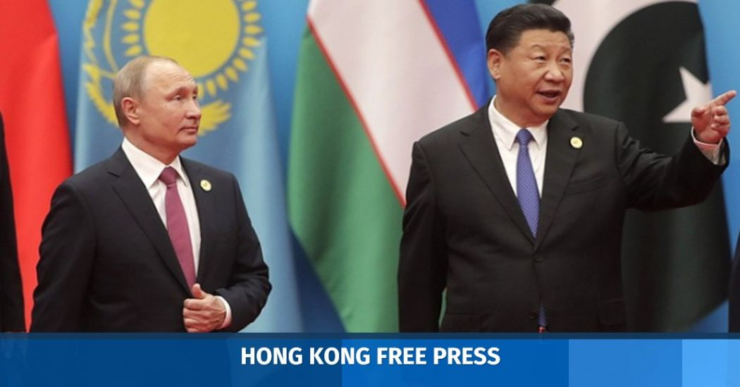 Russia's Vladimir Putin and China's Xi Jinping.