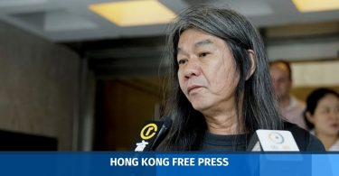 Leung Kwok-hung long hair