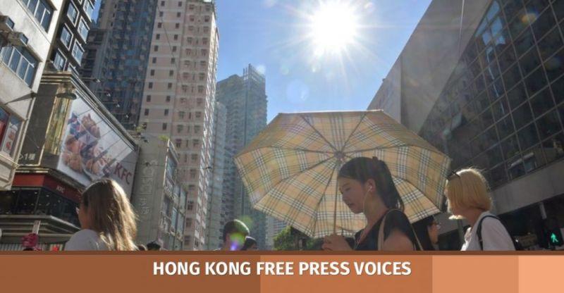 Hong Kong climate change