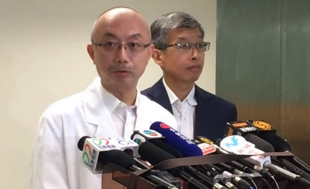Francis Mok Chun-keung and Simon Tang Yiu-hang Tuen Mun Hospital