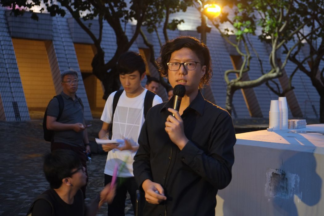 Tiananmen Massacre vigil Tsim Sha Tsui 2018