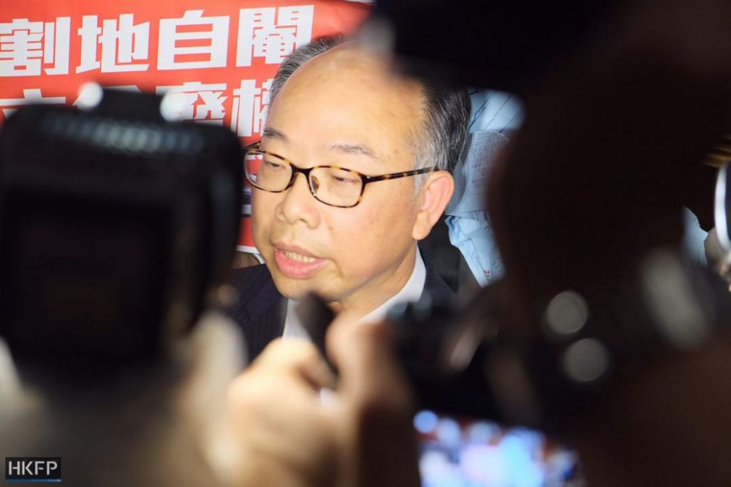 Frank Chan express rail link joint checkpoint bill vote