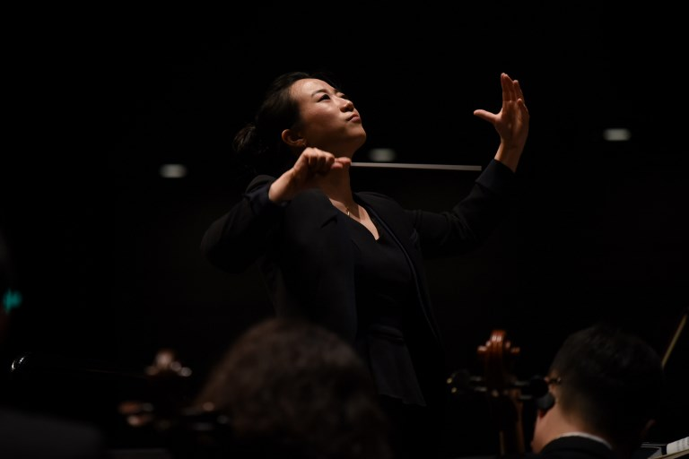 Chinese conductor Jing Huan