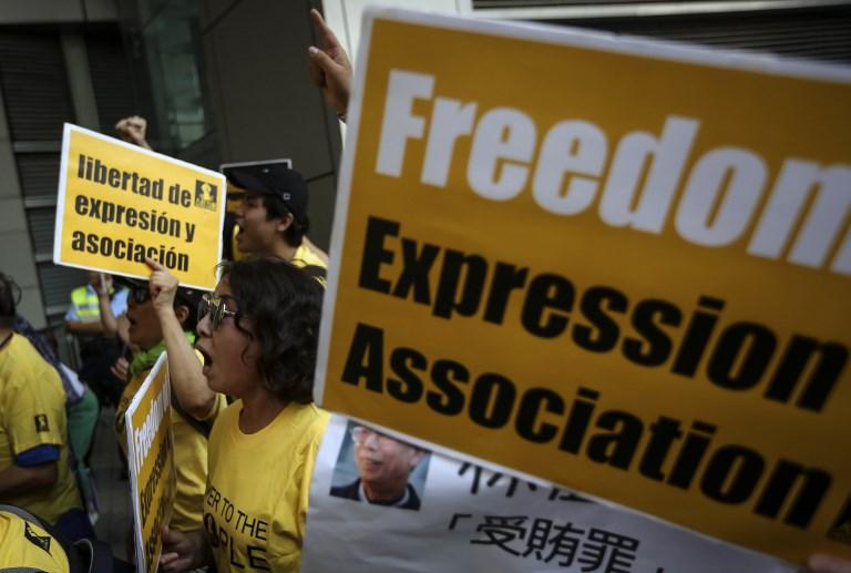 freedom association protest