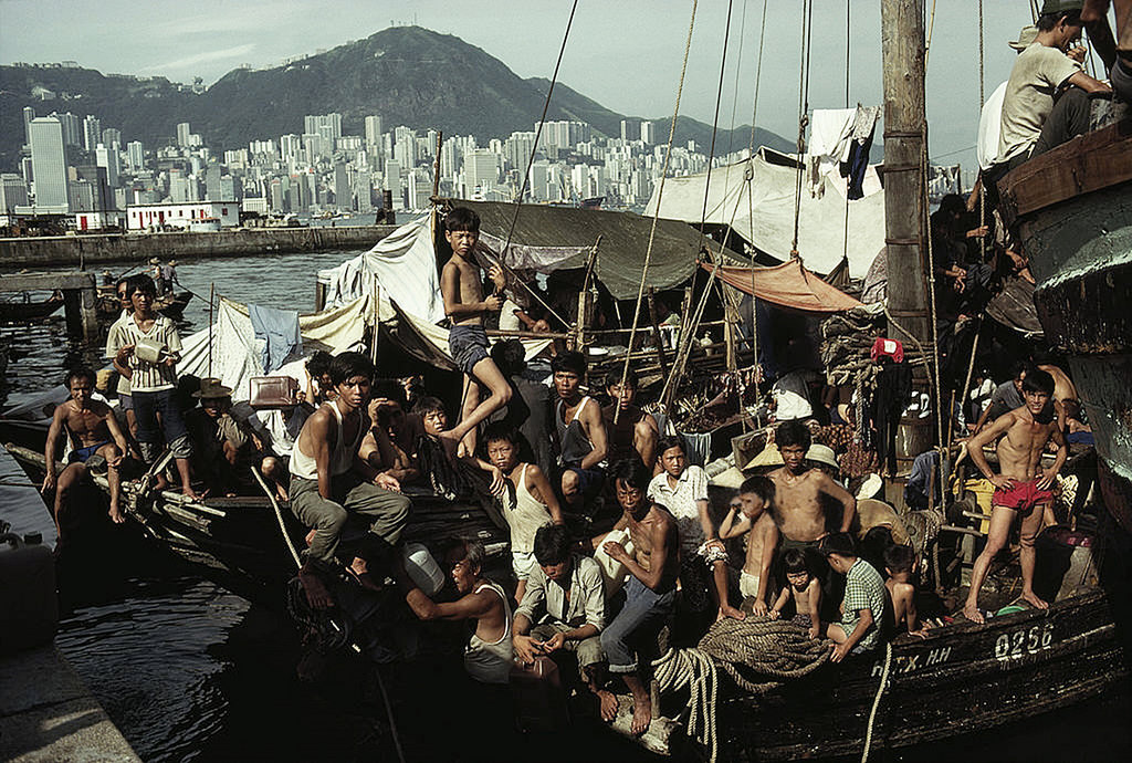 Vietnamese boat people Hong Kong