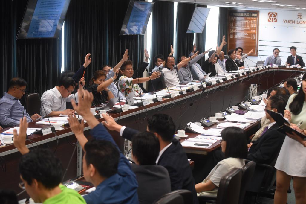 Yuen Long District Council vote
