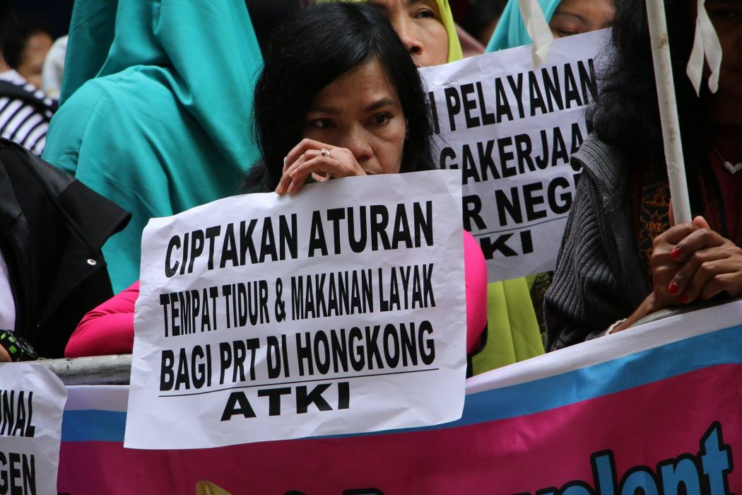 Indonesian migrant domestic worker march 2018