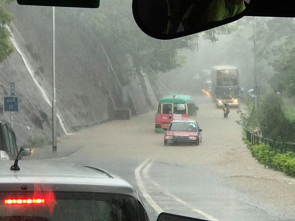 tai po flooding