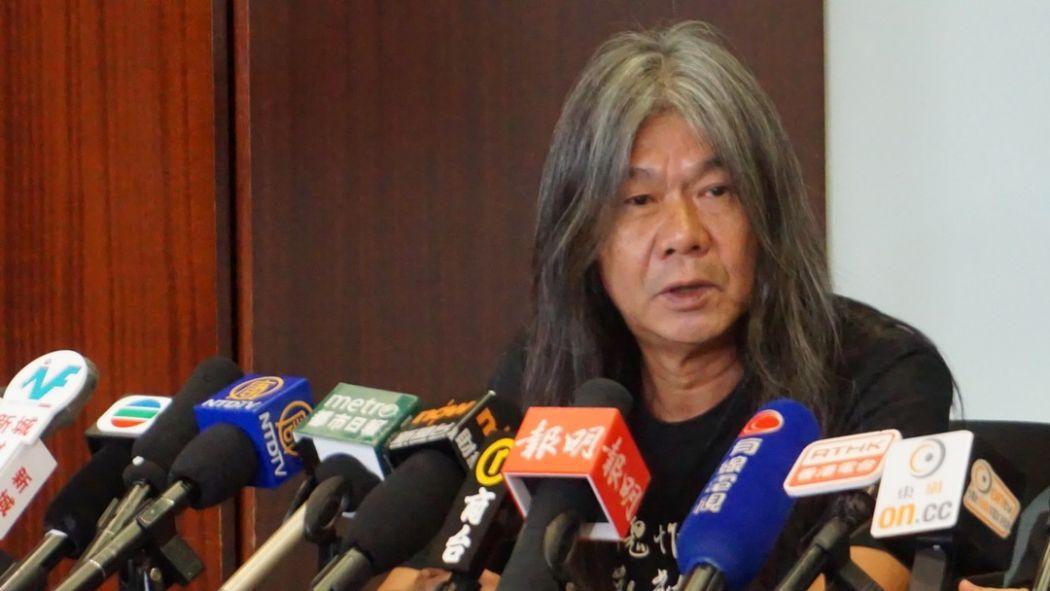 """""""Long Hair"""" Leung Kwok-hung"""