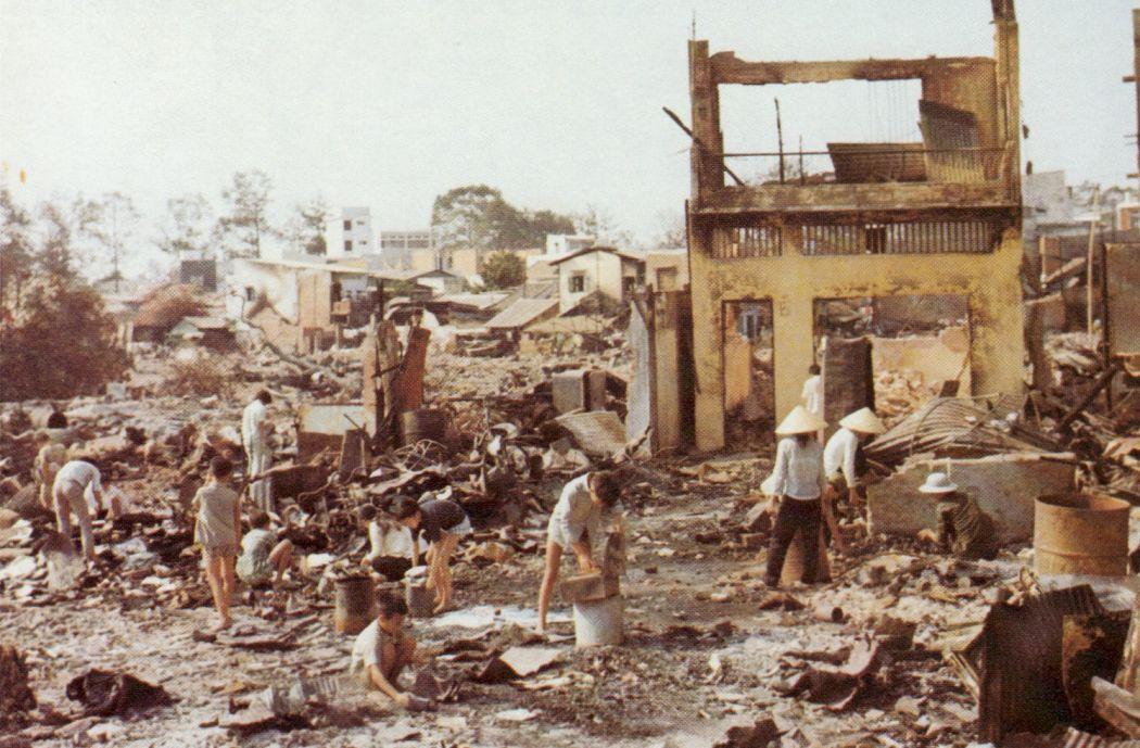 Cholon after tet offensive vietnam 1969