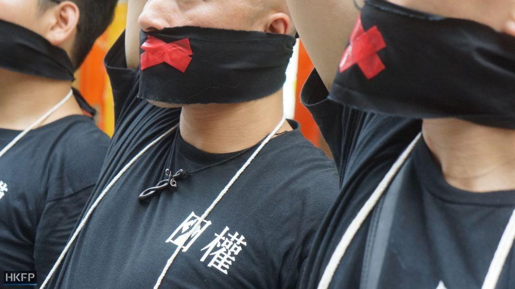 sensor kebebasan berbicara 1 Juli protes