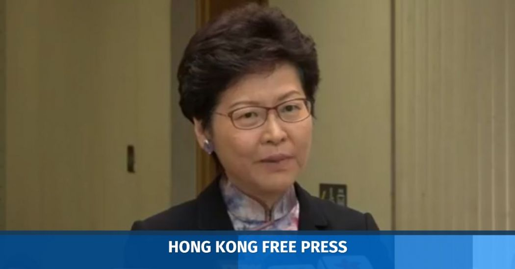 Carrie Lam feature image