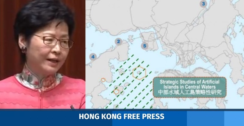 Carrie Lam land reclaim