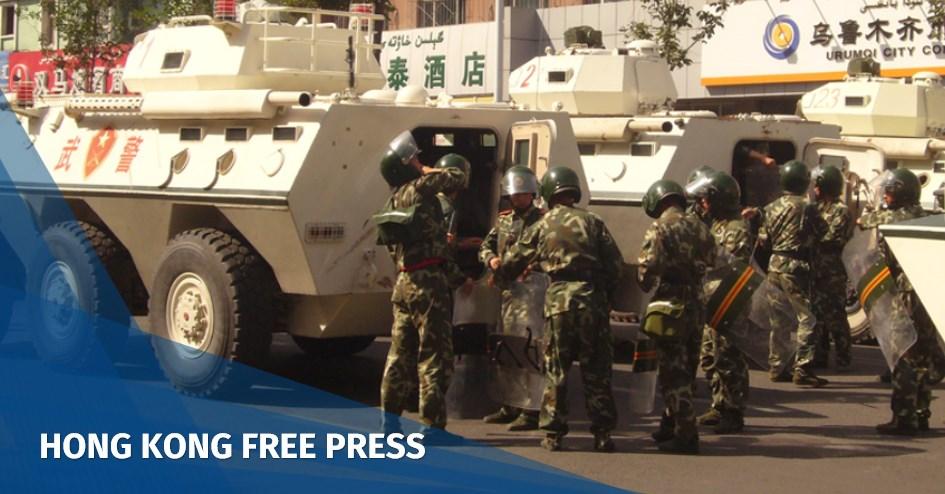 xinjiang crackdown