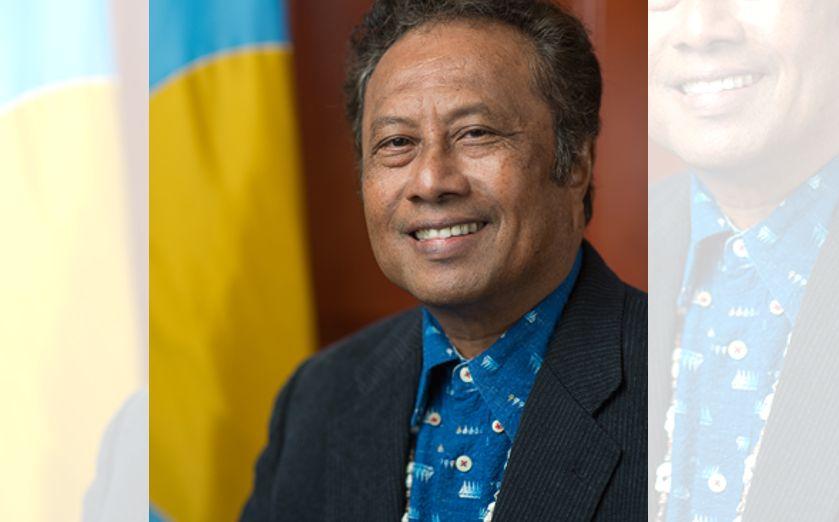 Palau President Tommy Remengesau