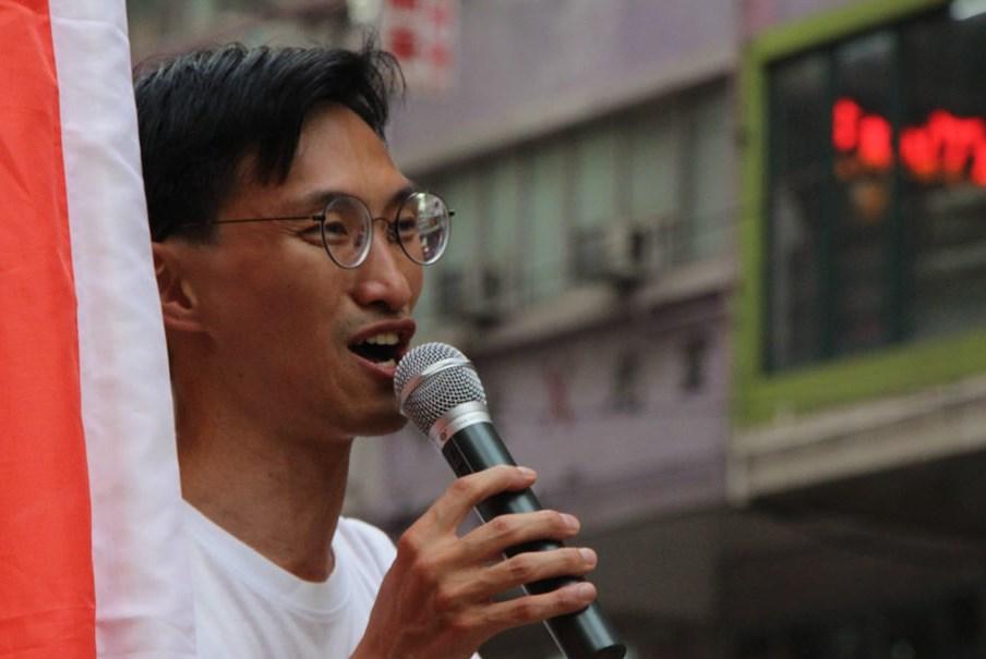 Eddie Chui Hoi-dick july 1 protest