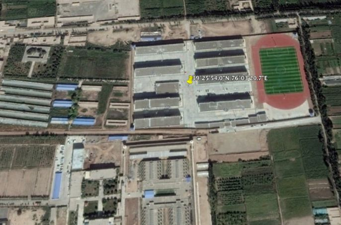 "Xinjiang ""Re-education Camp"" No.3,"