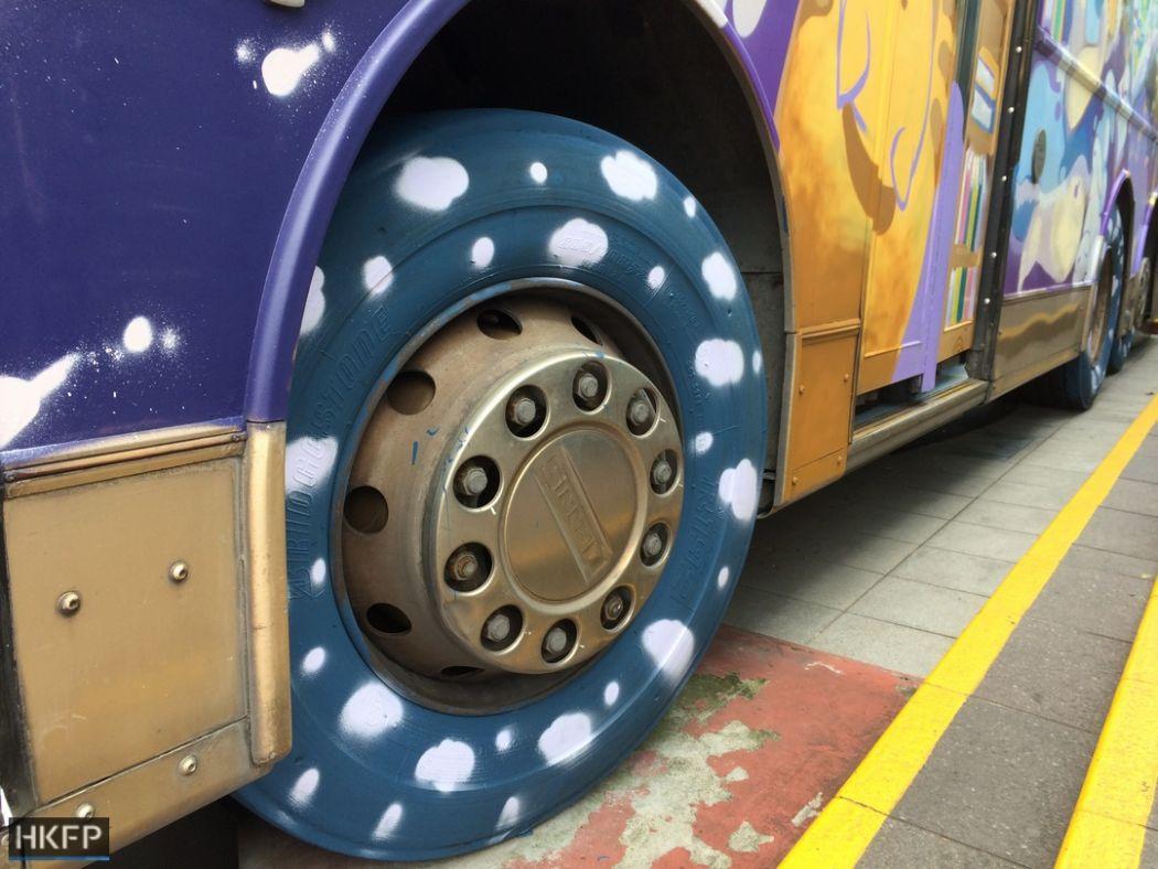 tung tak school bus
