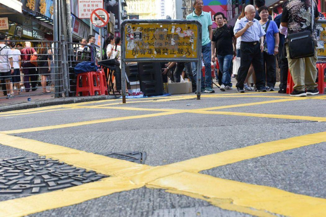Mong Kok pedestrian zone