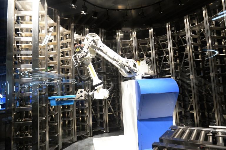 restaurant robot china