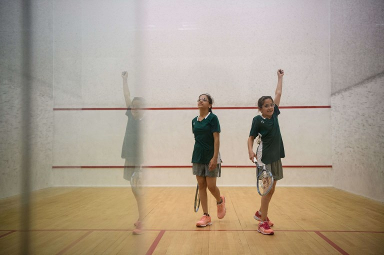 Hong Kong Syrian girls squash