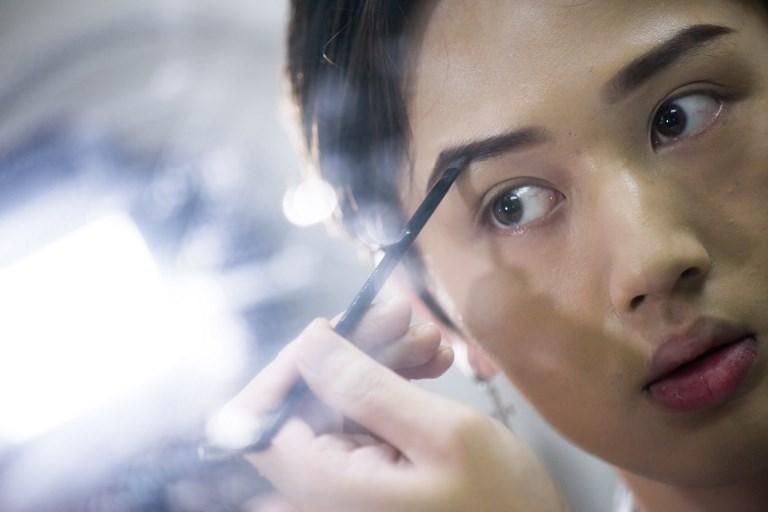 Lan Haoyi make-up