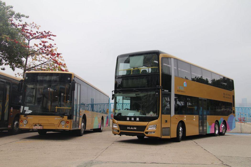 Hong Kong-Zhuhai-Macao Bridge shuttle bus