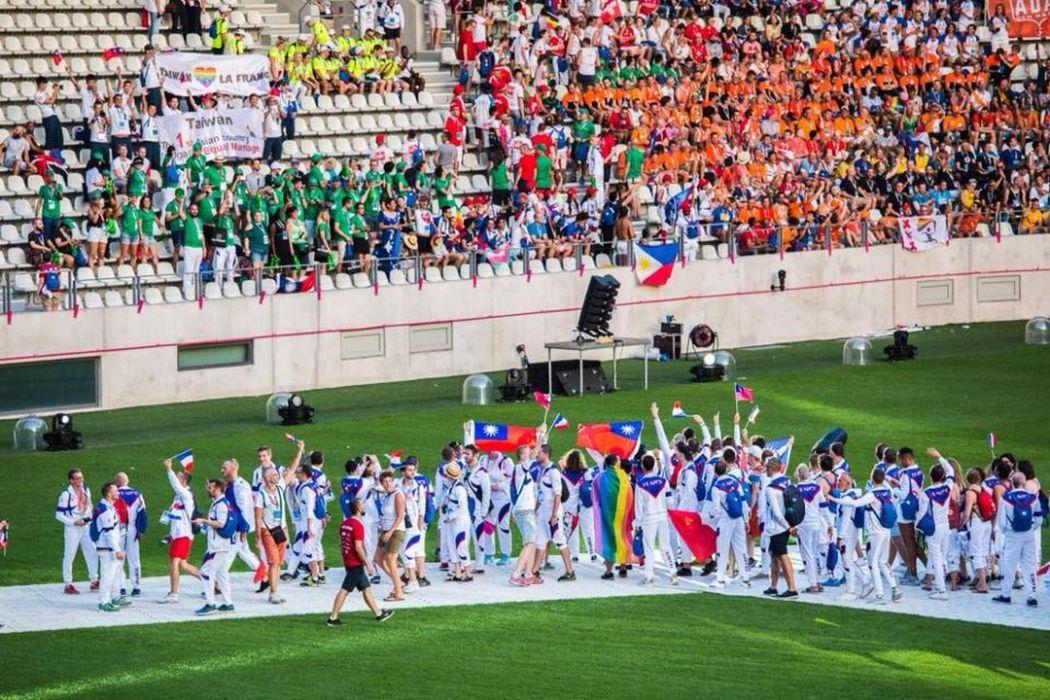 Taiwan flag gay games
