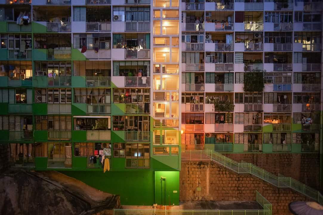 Hong Kong housing flats