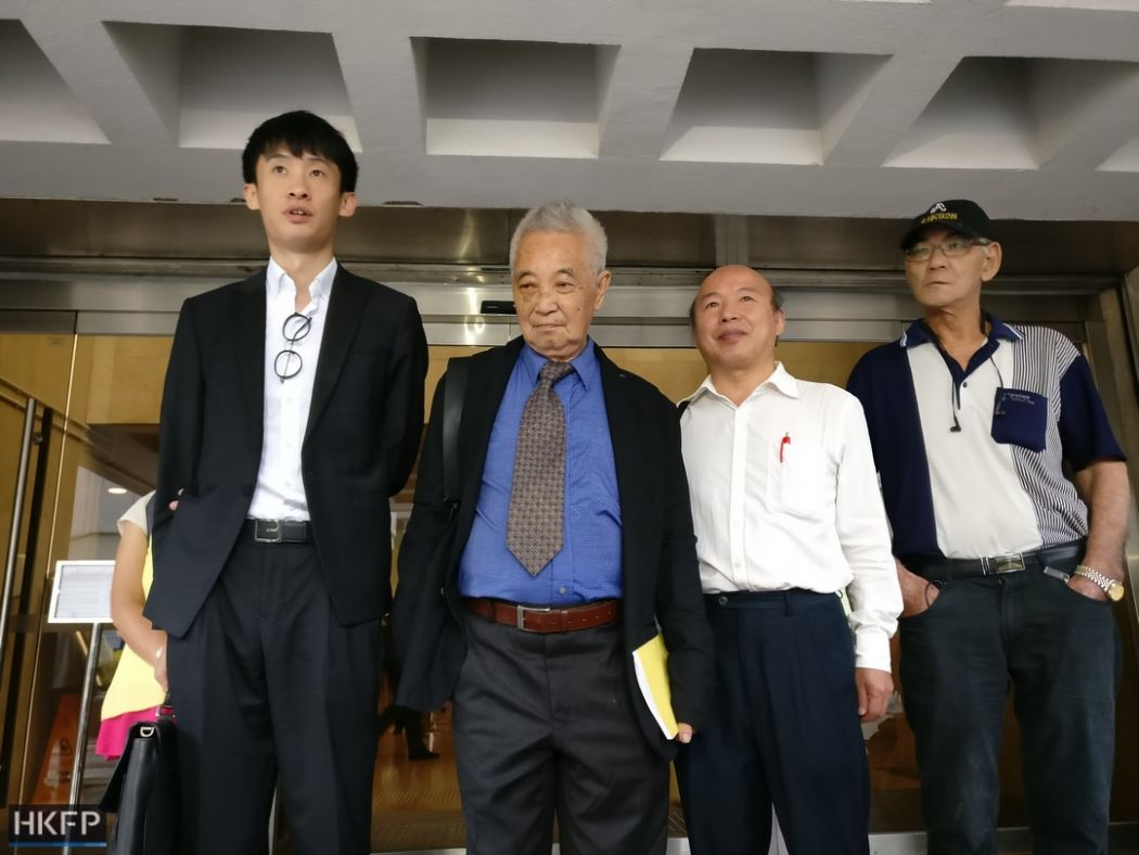 Baggio Leung, Kwok Cheuk-kin injunction court