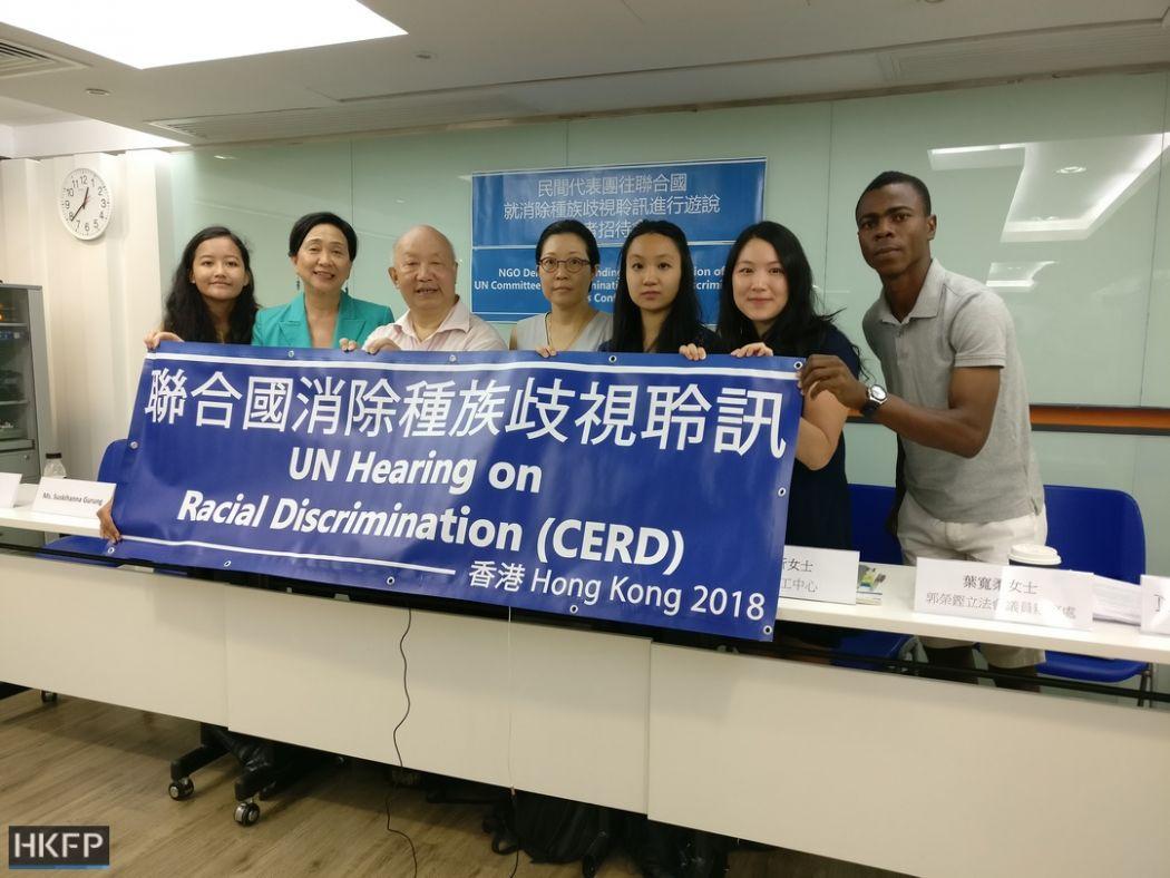 UN CERD NGO delegation