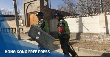 Uighur xinjiang police