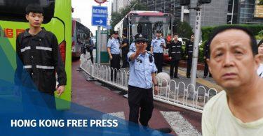 peer to peer lending protest beijing