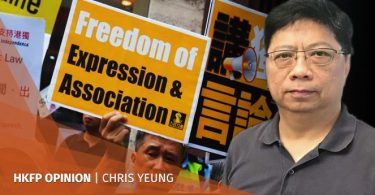 freedom hong kong china chris yeung
