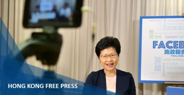 carrie lam facebook live feature image