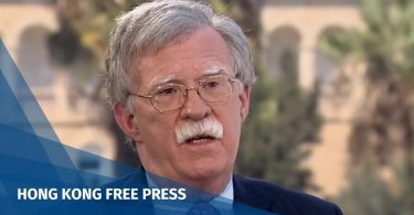 US National Security Adviser John Bolton
