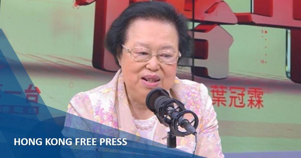 Maria Tam Andy Chan hong kong independence