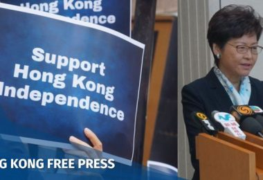 carrie lam independence