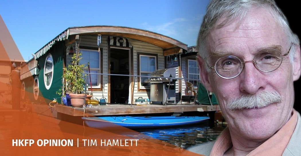 Tim Hamlett floating homes