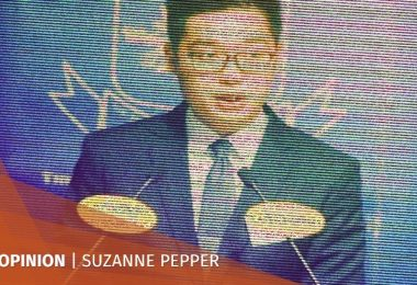 Suzanne Pepper Andy Chan