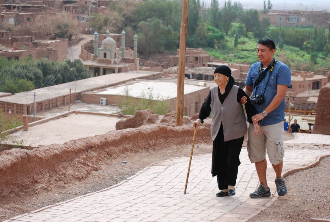 Murat Uyghur Xinjiang Turpan grandmother