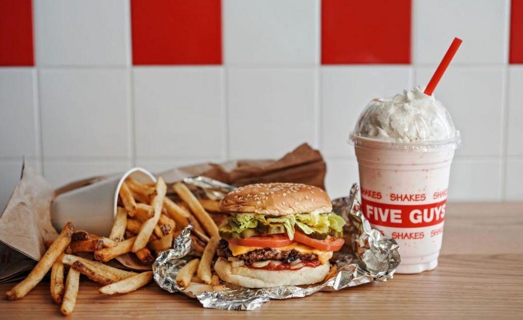 five guys burgers hong kong opening