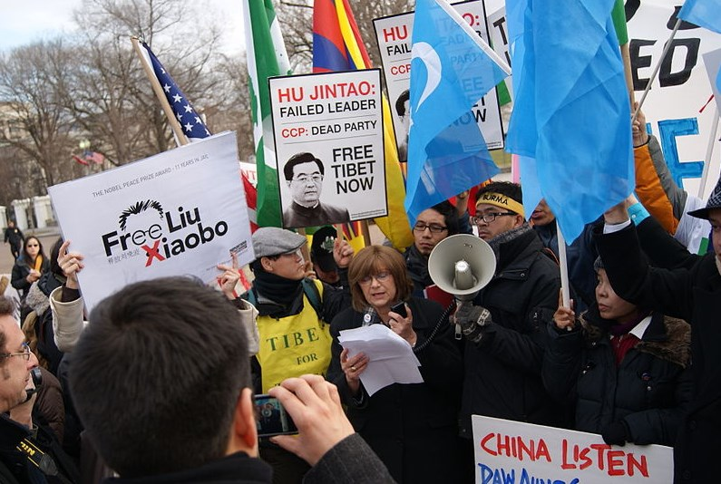 China human rights free speech