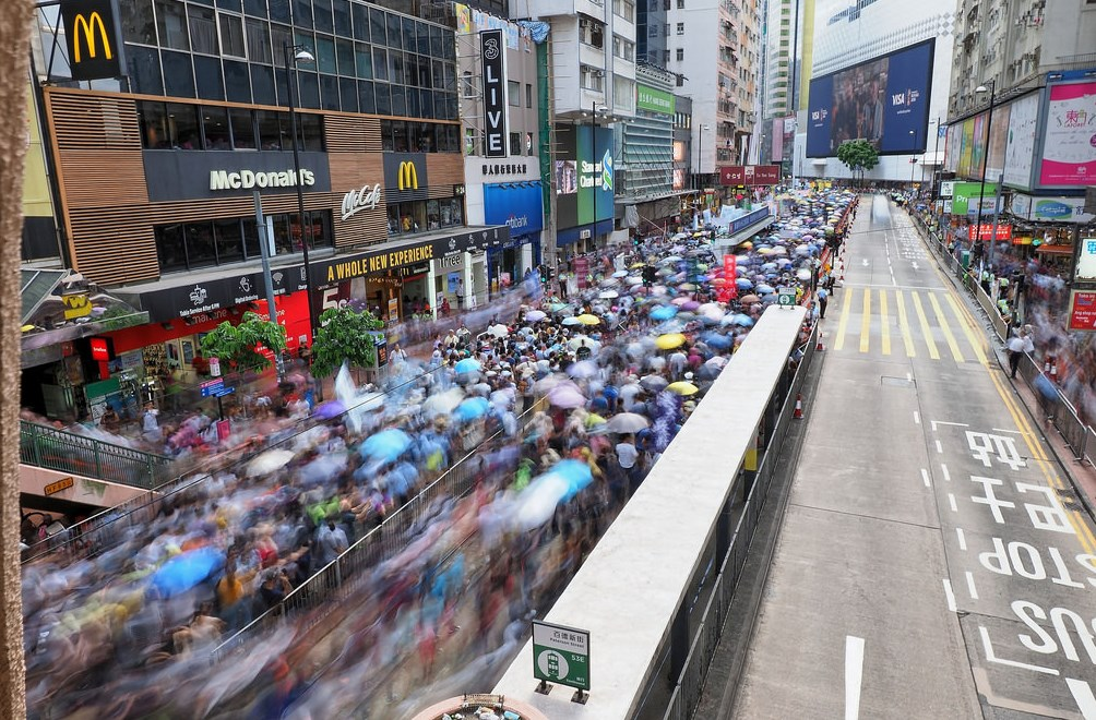 2018 july 1 pro democracy march protest