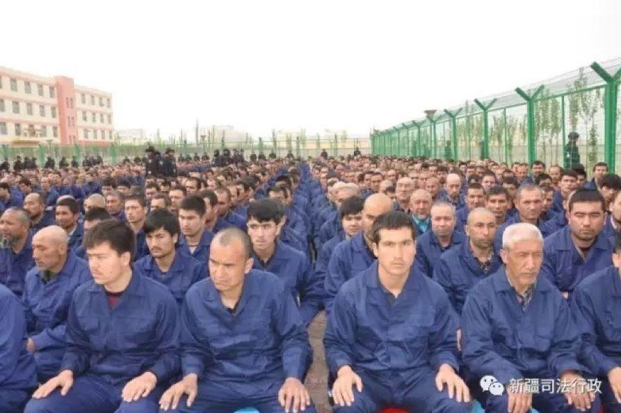 Uyghur Uighur Xinjiang detention centre reeducation camp