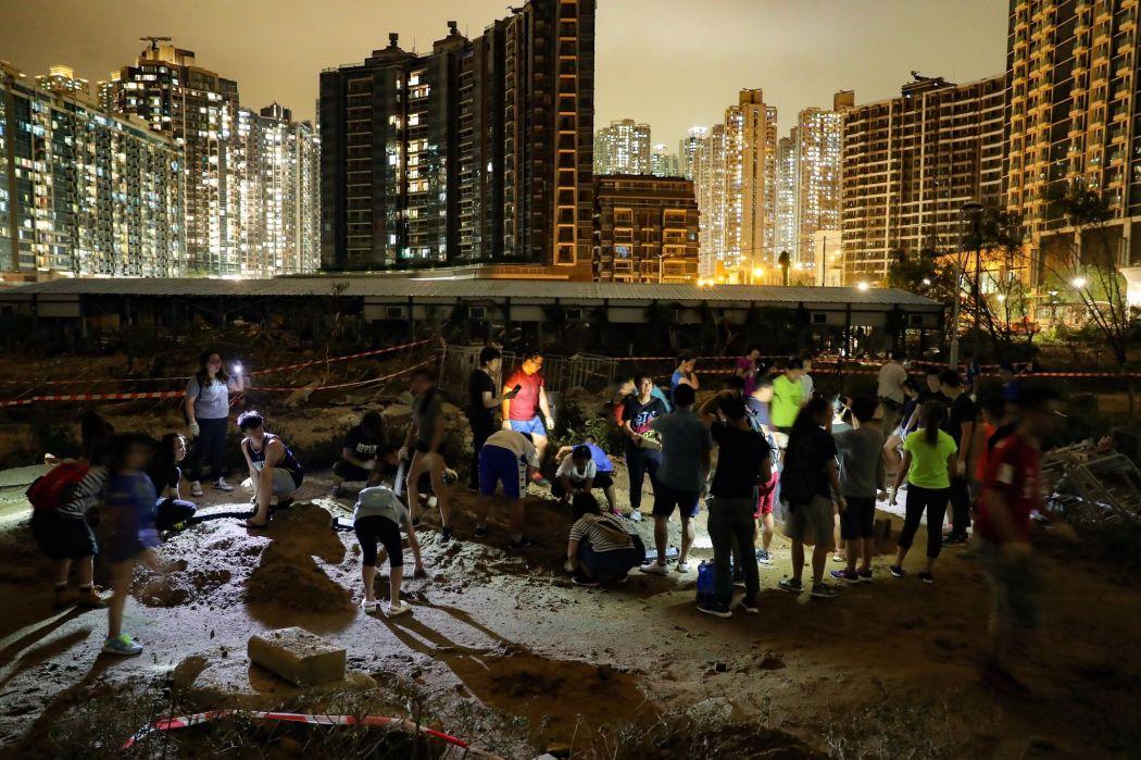 Tseung Kwan O super typhoon Mangkhut