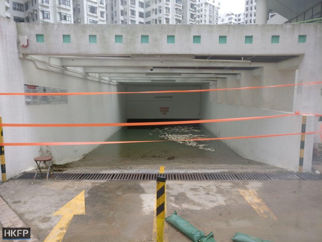 Heng Fa Chuen Mangkhut aftermath
