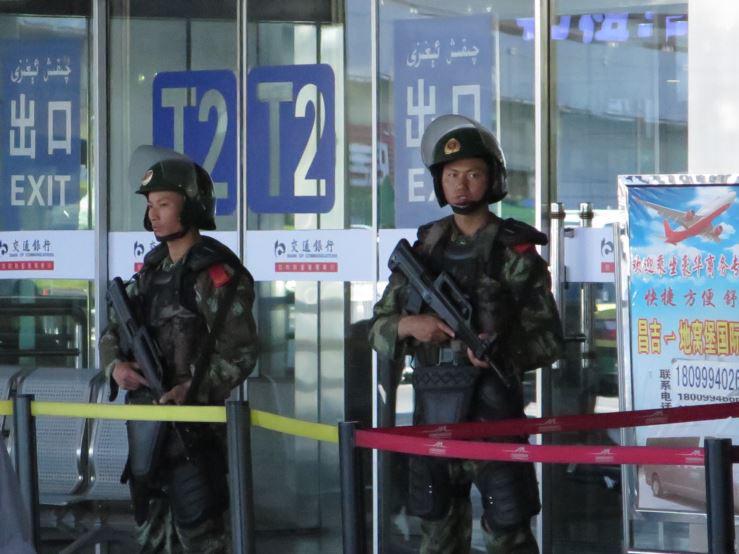 Urumqi Xinjiang police May 2014