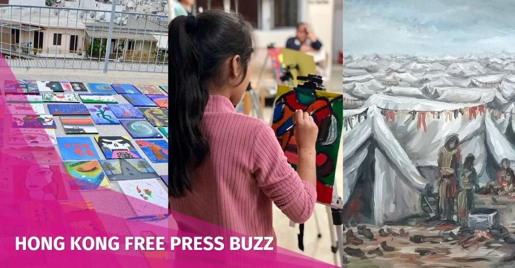 Mini Acts Refugee art
