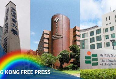 Hong Kong universities same-sex marriage